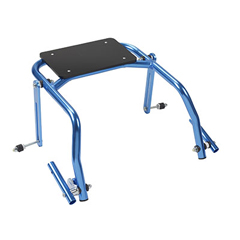 FNT31-3732B - Fabrication Enterprises - Seat Attachment for Nimbo Posterior Walker, Youth, Knight Blue