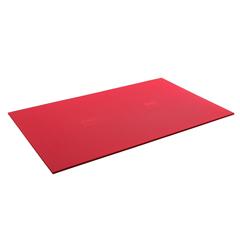 FNT32-1234R - Fabrication Enterprises - Airex® Exercise Mat - Atlas - Red, 78 x 48 x 5/8