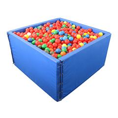 FNT32-2403 - Fabrication Enterprises - Sensory Ball Environment 8 panels, 9,000 large balls 10 x 10