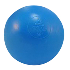 FNT32-2410B-500 - Fabrication EnterprisesLarge Sensory Balls, (73mm) Blue, 500/Case