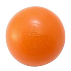 FNT32-2410O-500 - Fabrication EnterprisesLarge Sensory Balls, (73mm) Orange, 500/Case