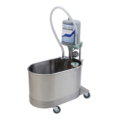 FNT42-1256B - Fabrication Enterprises - Extremity Mobile Whirlpool W/Stand, 22 Gallon, 220V