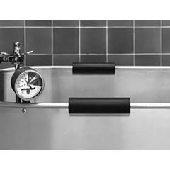 FNT42-1432 - Fabrication Enterprises - Rubber Handgrips for Stainless Steel Whirlpools, Pair