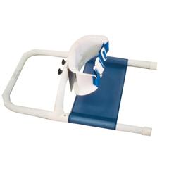 FNT45-2212 - Fabrication Enterprises - Columbia® Wrap-Around Support - Low Back (Safety Belt) - Unpadded - Large