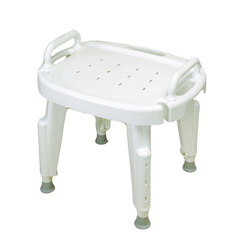 FNT45-2301 - Fabrication Enterprises - Adjustable Shower Seat with Arms , No Back