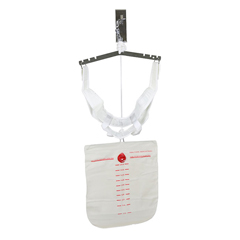 FNT50-1000-25 - Fabrication Enterprises - FabTrac™ Overdoor Cervical Traction with Head Halter, Case of 25