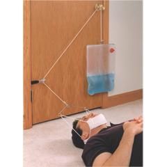 FNT50-1001 - Fabrication Enterprises - C-Trax® Supine Cervical Traction - with Regular Halter