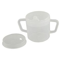 FNT60-1012 - Fabrication Enterprises - Independence 2-Handled Mug, 8 oz., w/2 Lids