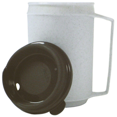 FNT60-1080 - Fabrication EnterprisesInsulated Mug, No-Spill Lid 12 oz.