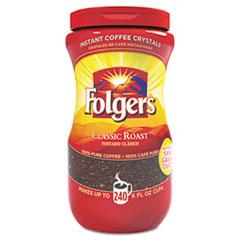 FOL06922 - Folgers Instant Coffee Crystals