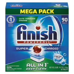 FSH89729CT - FINISH® Powerball® Dishwasher Tabs
