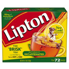BFVTJL00290 - Lipton - 1 Cup Decaf Tea Bag