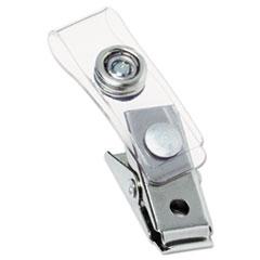 GBC1122897 - GBC® Badge Clips With Mylar Straps