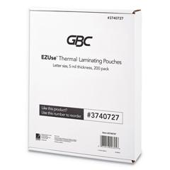 GBC3740727 - GBC® EZUse™ Thermal Laminating Pouches