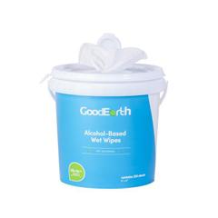 GDE18668 - GoodEarth - 75% Ethanol Alcohol-Based 250 Wet Wipes Bucket