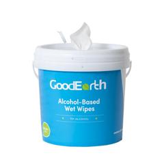 GDE19214 - GoodEarth - 75% Ethanol Alcohol-Based 800 Wet Wipes Bucket