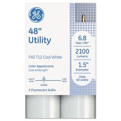 GEL66651 - GE T12 Fluorescent Utility Bulb