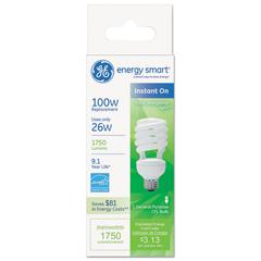 GEL80890 - GE Energy Smart® Compact Fluorescent Spiral Light Bulb