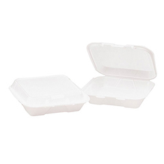 GENHINGEDM1 - Foam Hinged Carryout Containers
