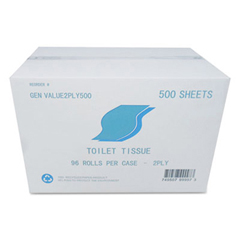 GENVALUE2PLY500 - Standard Bath Tissue