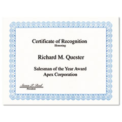 GEO20008 - Geographics® Certificates for Copiers, Laser and Inkjet Printers