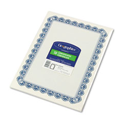GEO22901 - Geographics® Certificates for Copiers, Laser and Inkjet Printers
