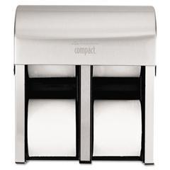 GEP56748 - Georgia Pacific® Professional Compact Quad® Vertical Four Roll Coreless Tissue Dispenser