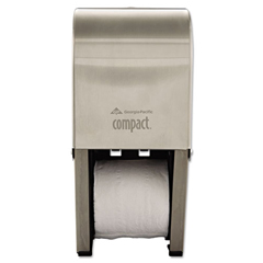 GEP56782 - Georgia Pacific Compact® Vertical Double Roll Coreless Tissue Dispenser
