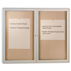 GHEPA23648VX181 - Ghent Enclosed Outdoor Bulletin Board