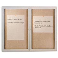 GHEPA23648VX181 - Ghent Enclosed Outdoor Bulletin Board