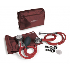 GHI100-040BUR - GF HealthLumiscope® Professional Combo Kit, Burgundy