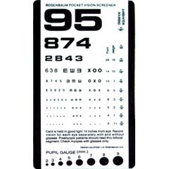 GHI1243-1 - GF Health - Rosenbaum Pocket Vision Screener Card