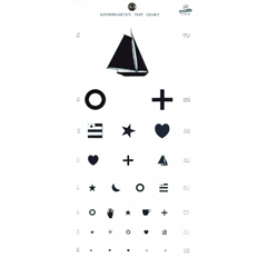 GHI1243 - GF Health - Kindergarten Hanging Eye Chart