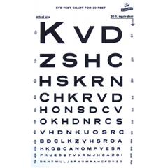 GHI1264 - GF Health - Illuminated Snellen Eye Chart - 10 Distance, 20 Equivalent