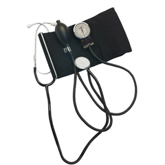 GHI242 - GF HealthHome Blood Pressure Kit with Attached Stethoscope