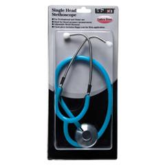 GHI300HB - GF HealthSingle Head Stethoscope, Blister Pack - Light Blue