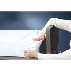 GHI3865 - GF HealthContoured Plastic Mattress Covers, 84 x  36 x 6
