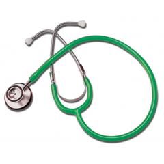 GHI400GR - GF Health - Dual Head Stethoscope, Green