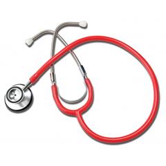 GHI400R - GF Health - Dual Head Stethoscope, Red