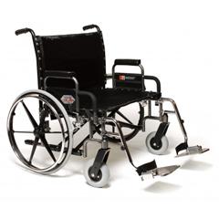GHI5PX10630 - GF Health - Paramount® XD Wheelchair, 26 x 19.5, Detachable Desk Arm, Elevating Legrest