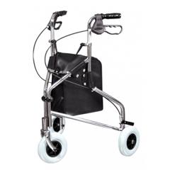 GHI609101A - GF HealthSure-Gait II Three-Wheeled Steel Rollator