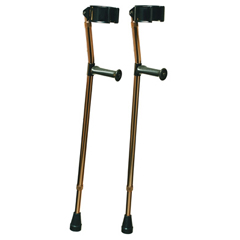 GHI6346 - GF HealthDeluxe Ortho Forearm Crutches