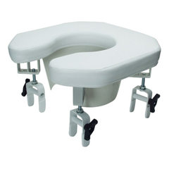 GHI6497A - GF HealthMulti-position Open Padded Raised Toilet