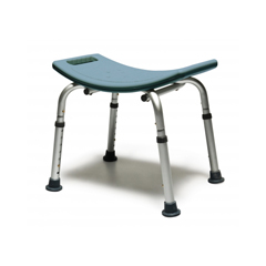 GHI7931RB-1 - GF HealthLumex® Platinum Collection Bath Seat without Backrest, Retail Packaging, Steel Blue