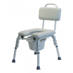 GHI7946A - GF HealthPlatinum Collection Deluxe Padded Commode Bath Seats