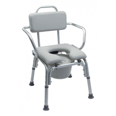 GHI7947A - GF HealthPlatinum Collection Deluxe Padded Commode Bath Seats