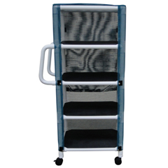 GHI8524 - GF Health - PVC Linen Cart With Cover