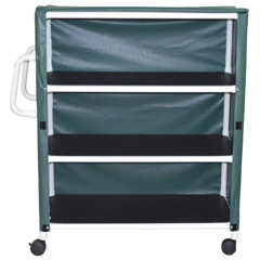 GHI8526 - GF Health - PVC Linen Cart With Cover