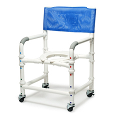 GHI89100-KD - GF HealthPVC Knockdown Shower Chair