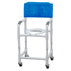 GHI89150 - GF HealthPVC Shower Chair/Commode